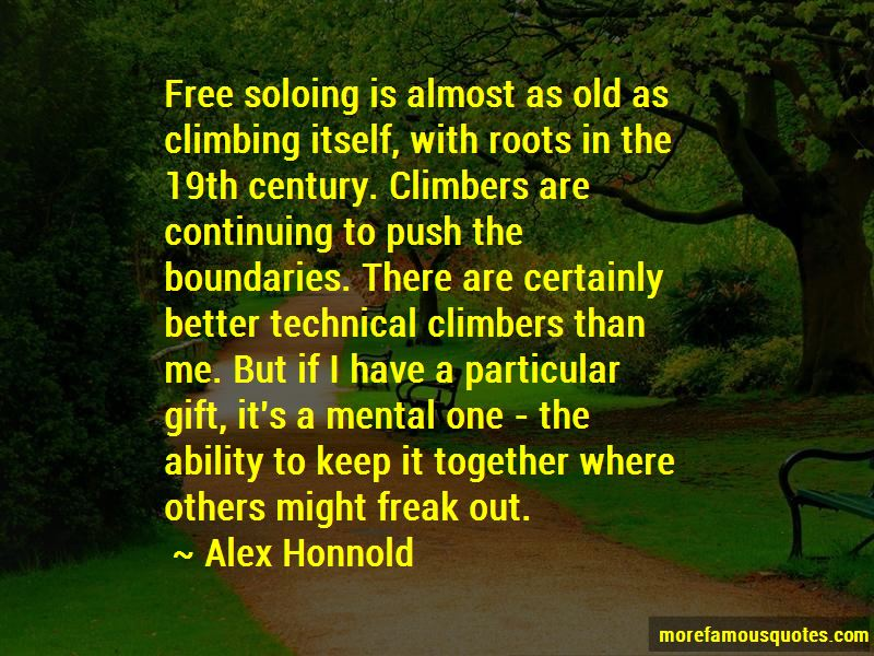 Alex Honnold Quotes