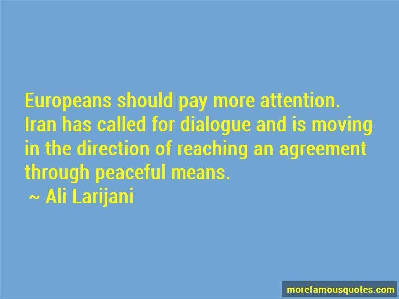 Ali Larijani Quotes Pictures 3