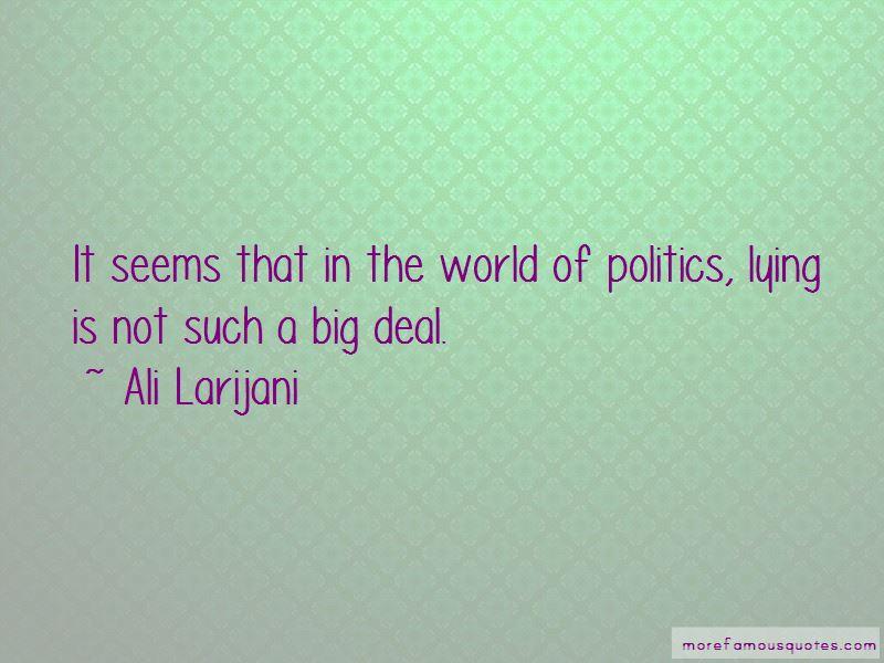 Ali Larijani Quotes Pictures 4