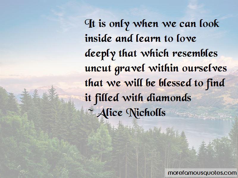 Alice Nicholls Quotes