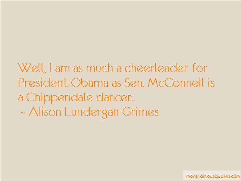 Alison Lundergan Grimes Quotes