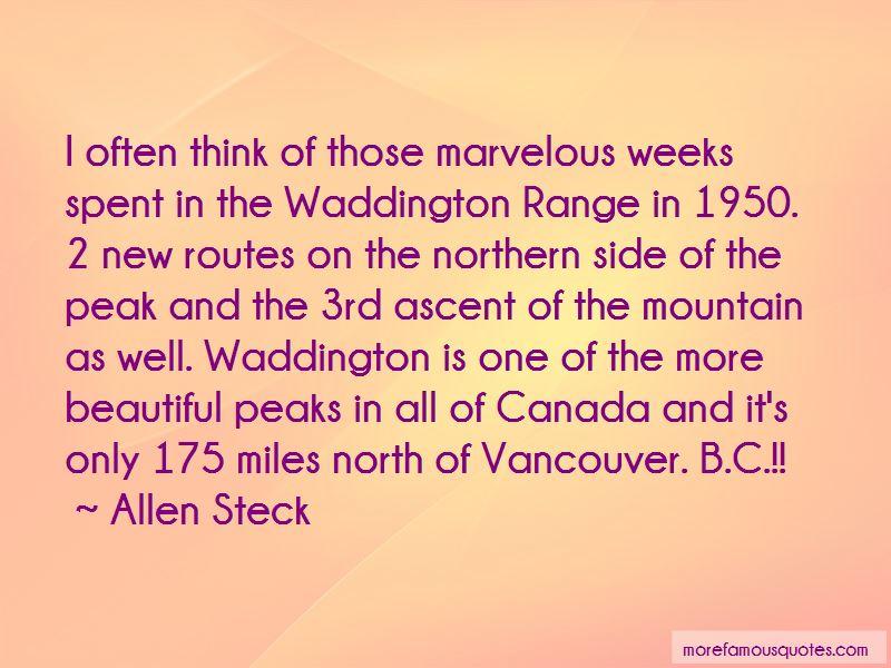 Allen Steck Quotes