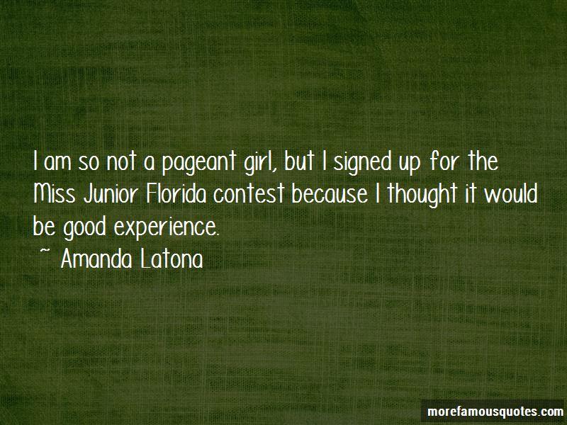 Amanda Latona Quotes Pictures 2