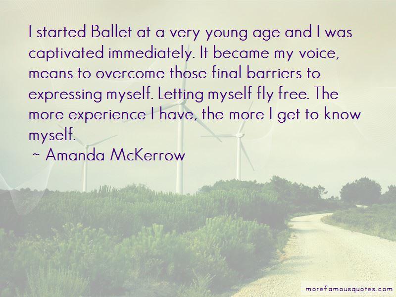 Amanda McKerrow Quotes