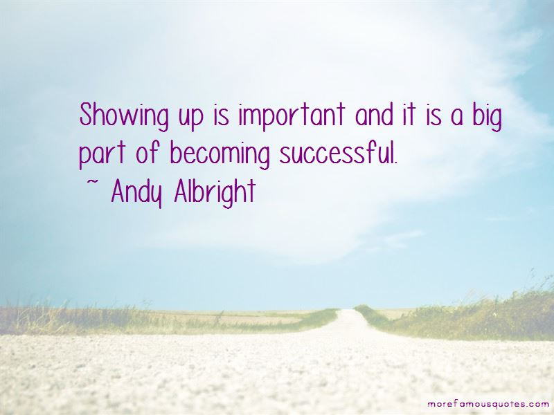 Andy Albright Quotes