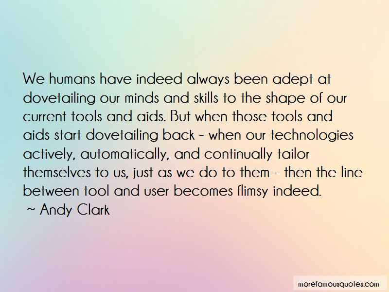 Andy Clark Quotes Pictures 2