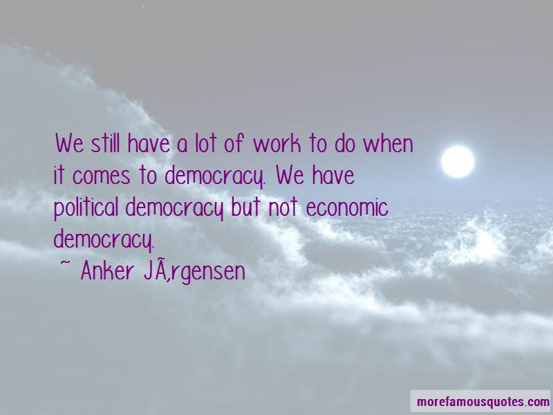 Anker Jørgensen Quotes