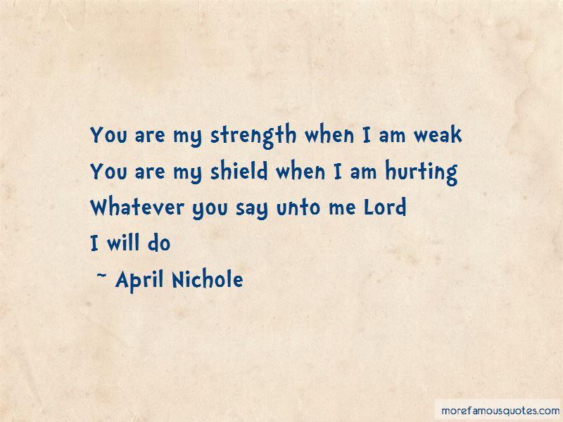 April Nichole Quotes Pictures 3