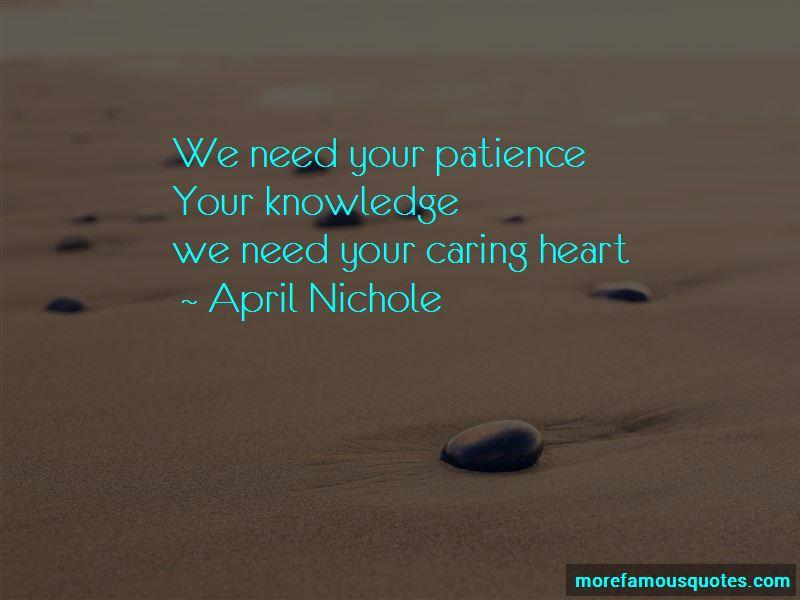 April Nichole Quotes