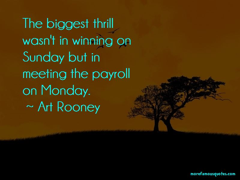Art Rooney Quotes Pictures 2