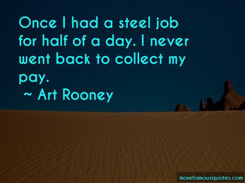 Art Rooney Quotes