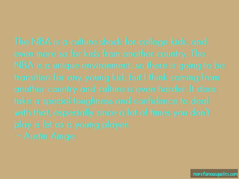 Austin Ainge Quotes