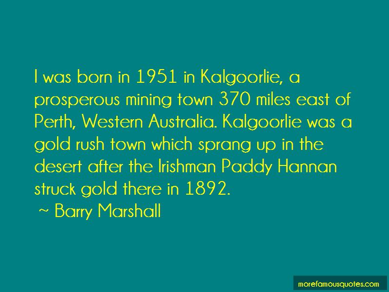 Barry Marshall Quotes Pictures 3