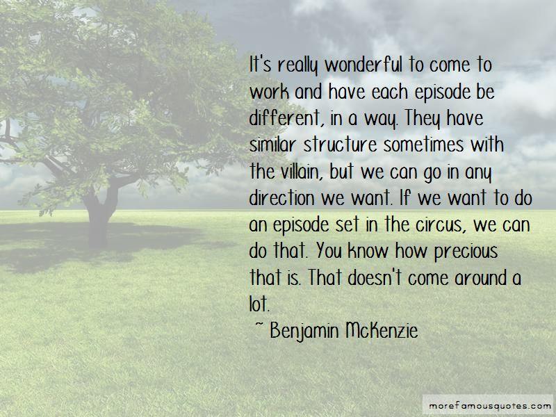 Benjamin McKenzie Quotes Pictures 3