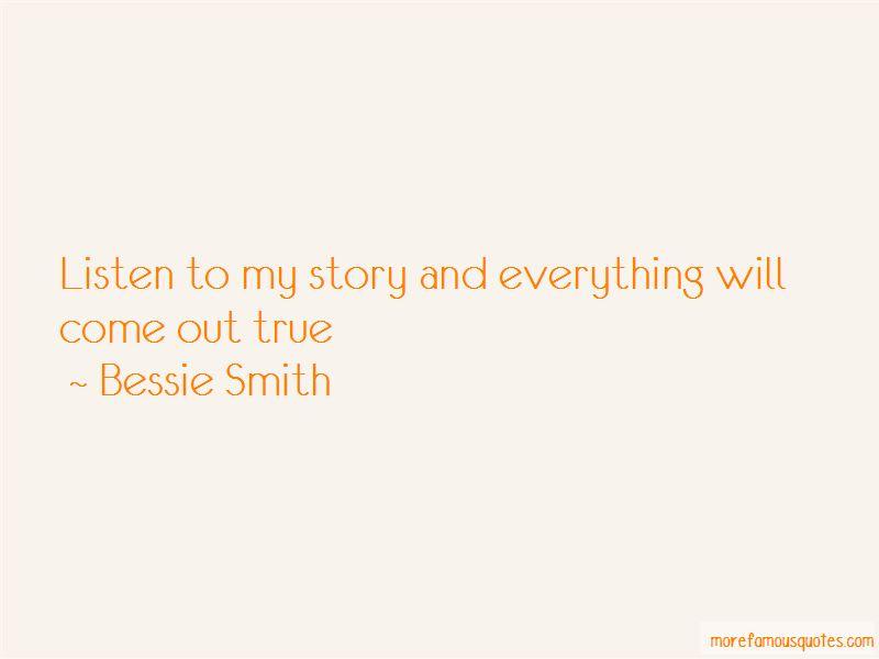 Bessie Smith Quotes Brilliant Bessie Smith Quotes Top 9 Famous Quotesbessie Smith