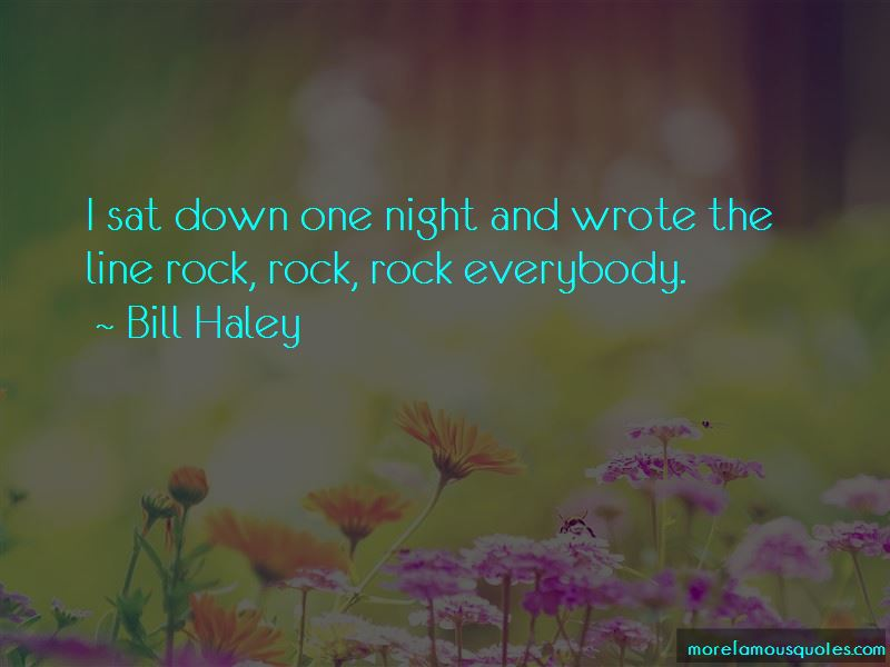 Bill Haley Quotes Pictures 2