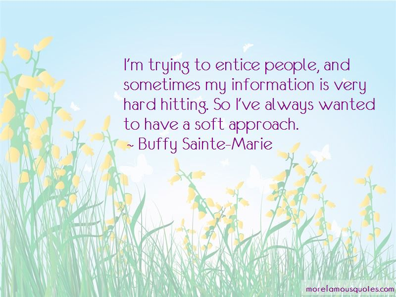 Buffy Sainte-Marie Quotes Pictures 3