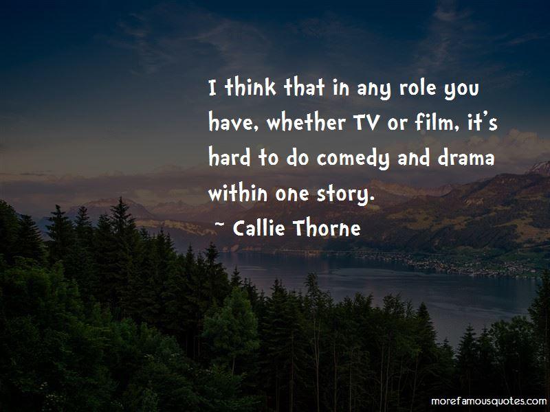 Callie Thorne Quotes Pictures 3