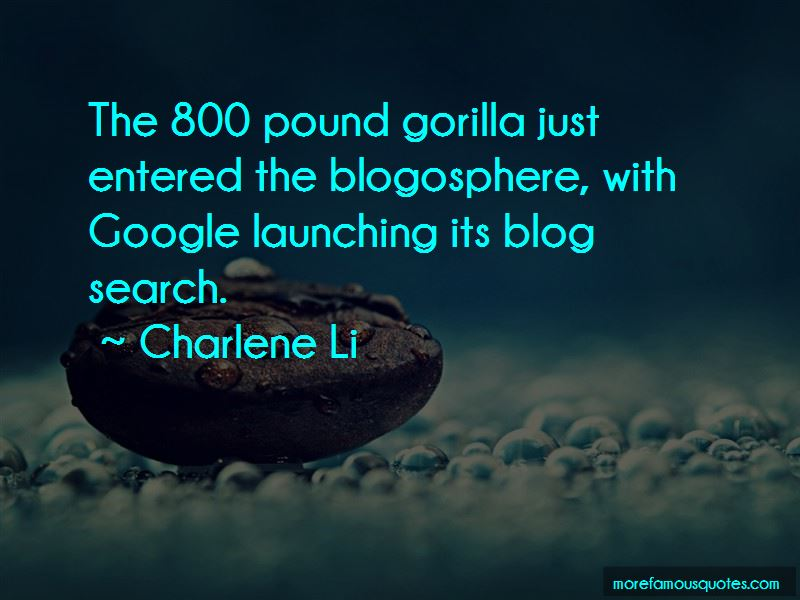 Charlene Li Quotes
