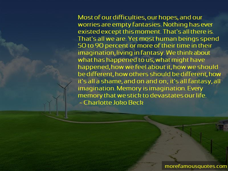 Charlotte Joko Beck Quotes Pictures 3