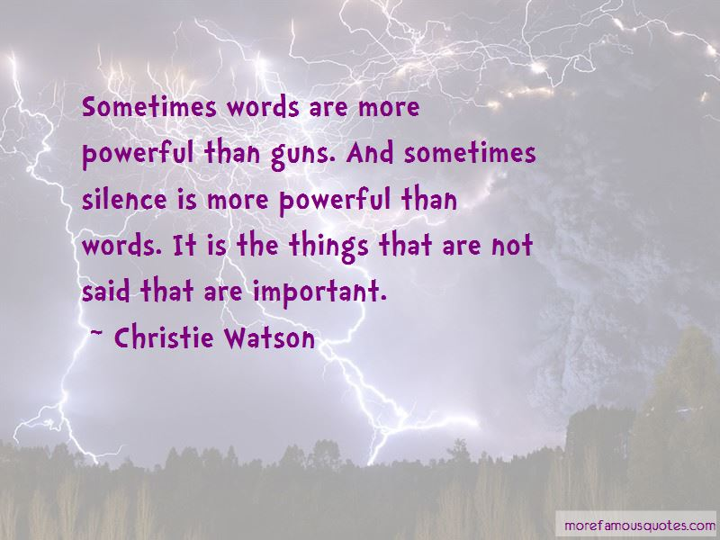 Christie Watson Quotes Pictures 3