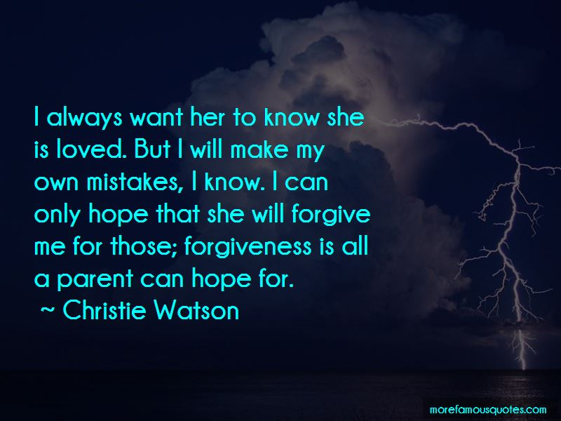 Christie Watson Quotes Pictures 4