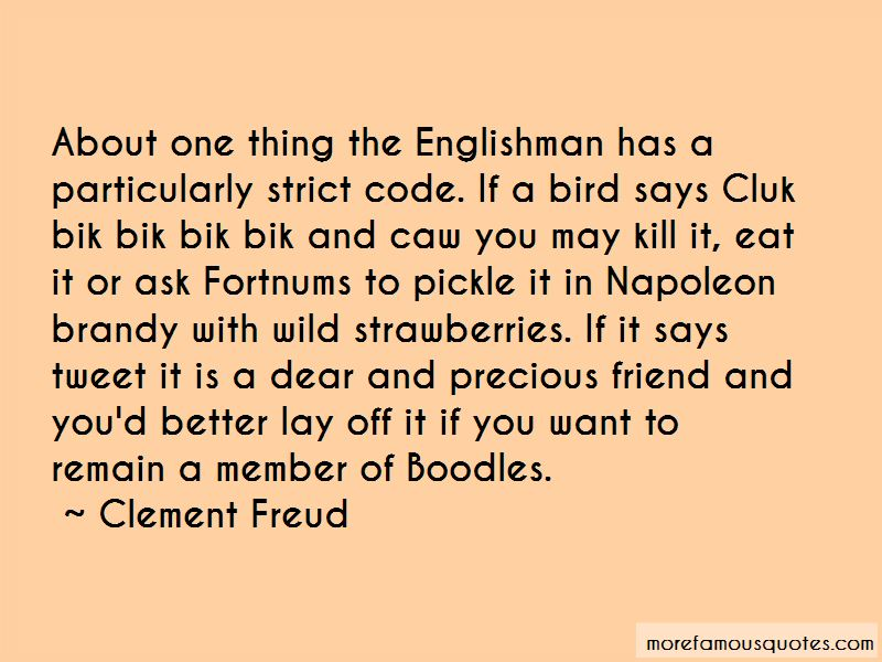Clement Freud Quotes Pictures 2