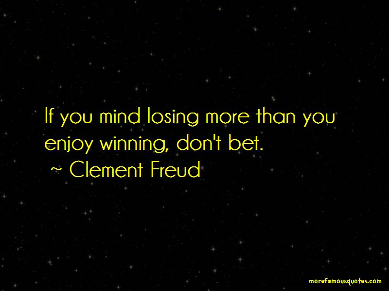 Clement Freud Quotes Pictures 3