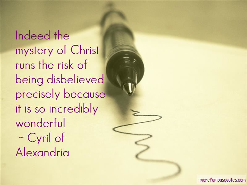 Cyril Of Alexandria Quotes Pictures 2