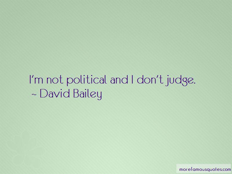 David Bailey Quotes