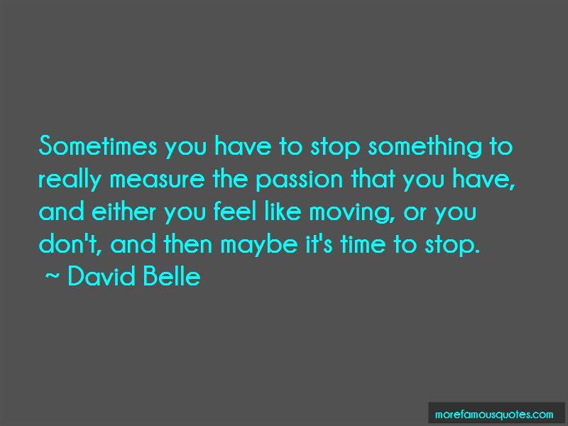 David Belle Quotes Pictures 2