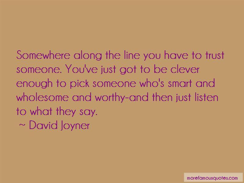 David Joyner Quotes Pictures 2