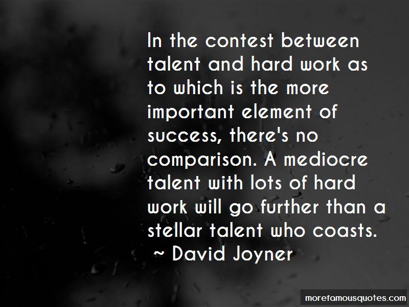 David Joyner Quotes