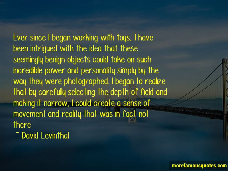 David Levinthal Quotes Pictures 2