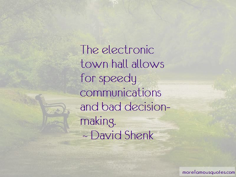 David Shenk Quotes