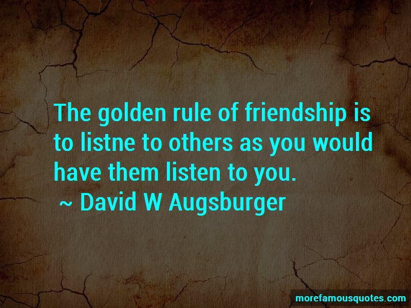 David W Augsburger Quotes Pictures 3