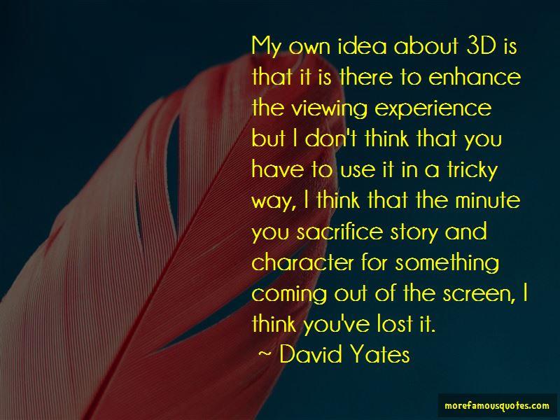 David Yates Quotes