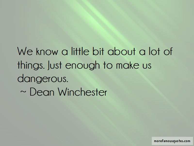 Dean Winchester Quotes Pictures 3