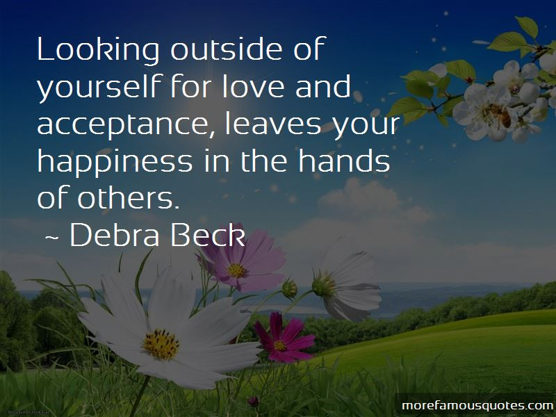 Debra Beck Quotes