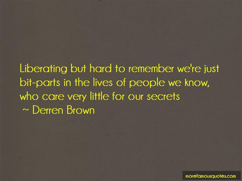 Derren Brown Quotes