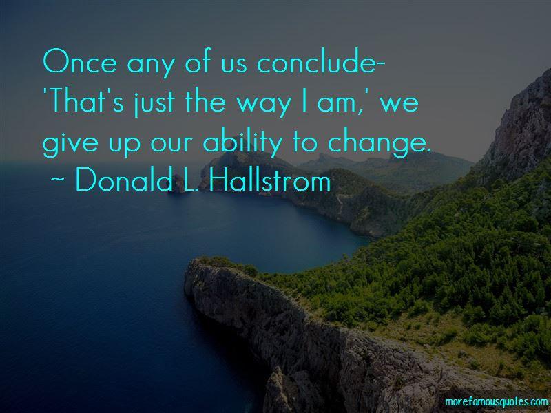 Donald L. Hallstrom Quotes Pictures 2