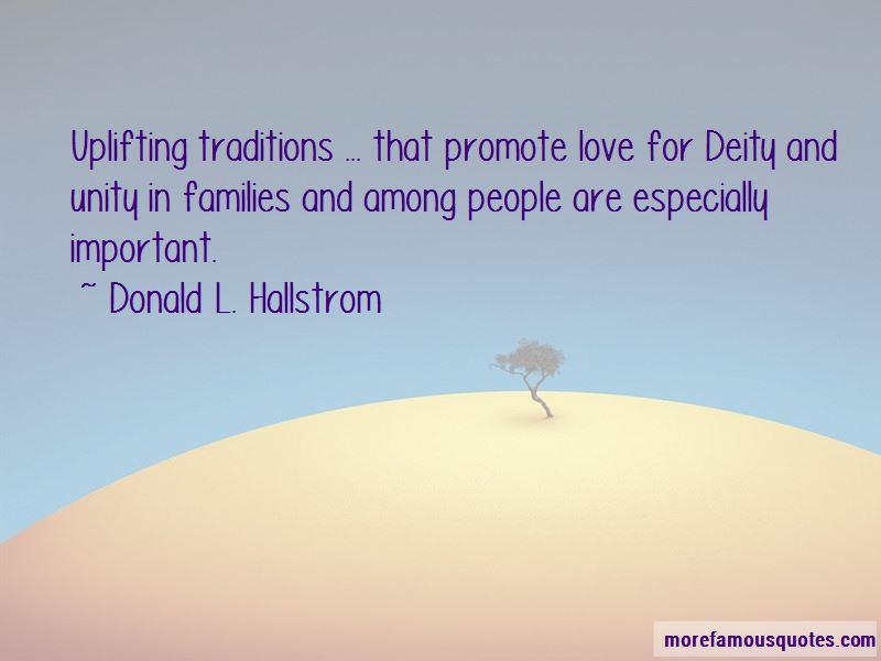 Donald L. Hallstrom Quotes