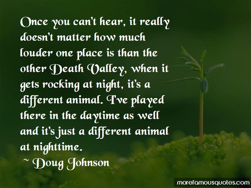 Doug Johnson Quotes