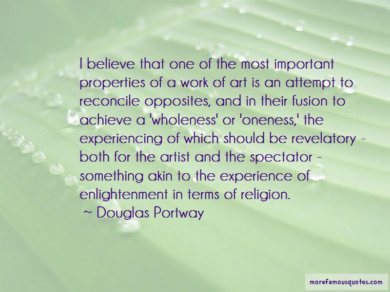 Douglas Portway Quotes