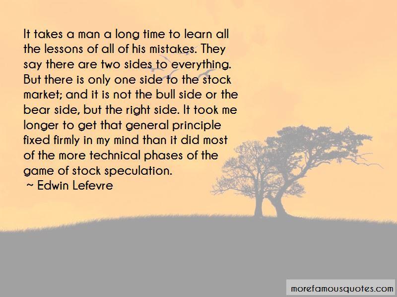 Edwin Lefevre Quotes Pictures 4