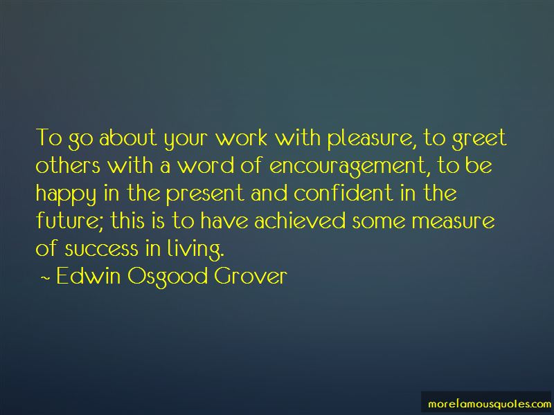 Edwin Osgood Grover Quotes