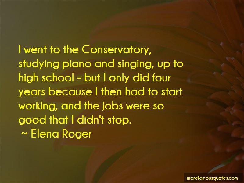 Elena Roger Quotes
