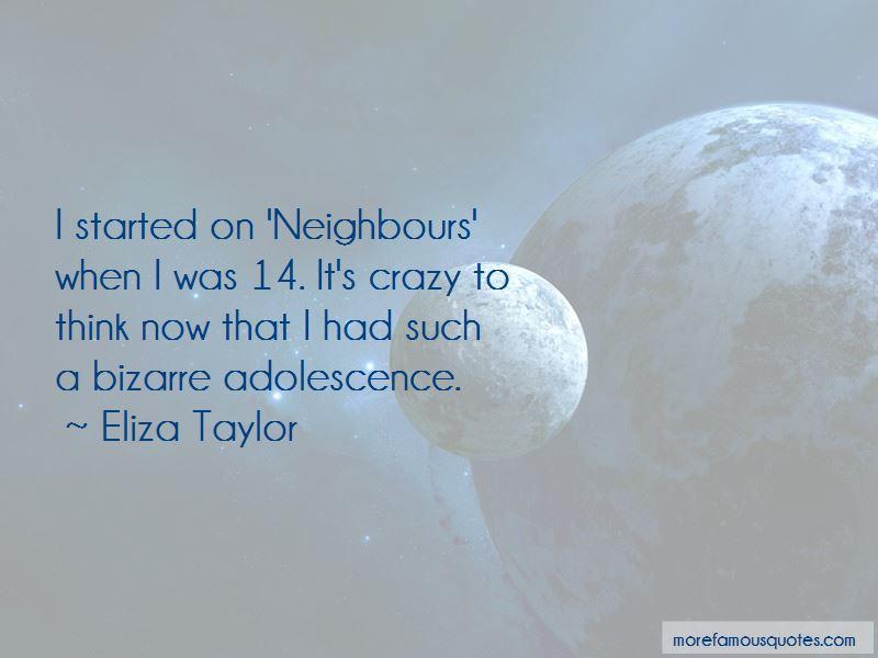 Eliza Taylor Quotes