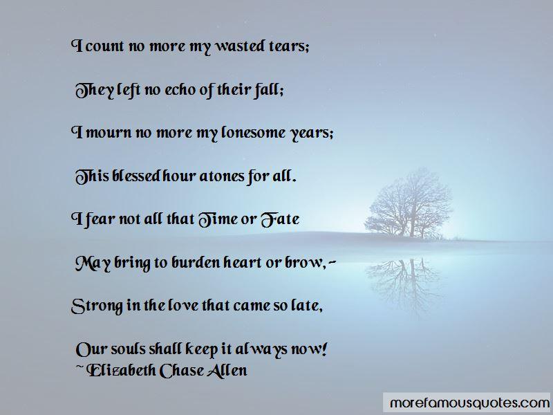 Elizabeth Chase Allen Quotes Pictures 4