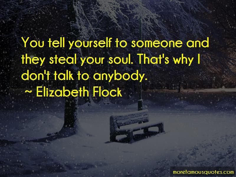 Elizabeth Flock Quotes Pictures 3